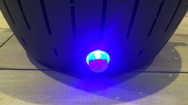 無煙炭火ロータスグリル|電源