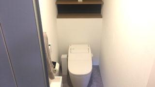 注文住宅のトイレ収納実例