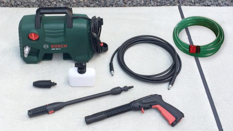 BOSCH高圧洗浄機AQT33-11標準セット内容