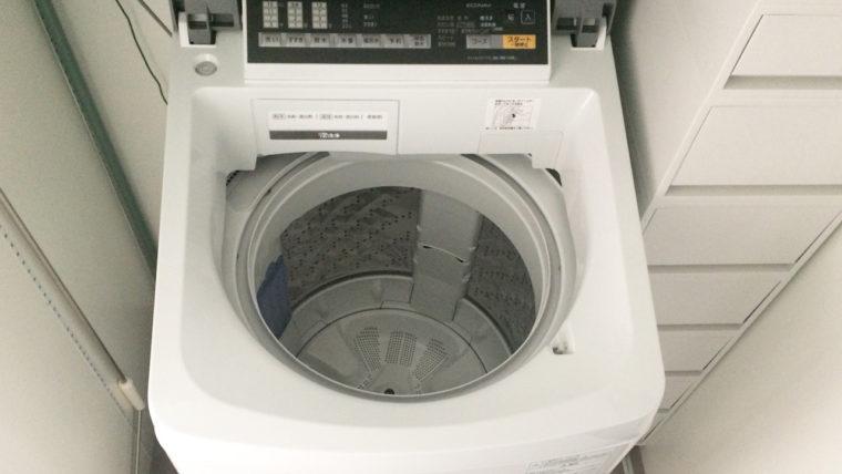 洗濯槽クリーナーのお掃除方法