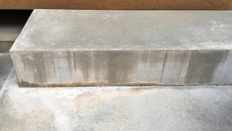 コンクリートの白華現象(エフロレッセンス)